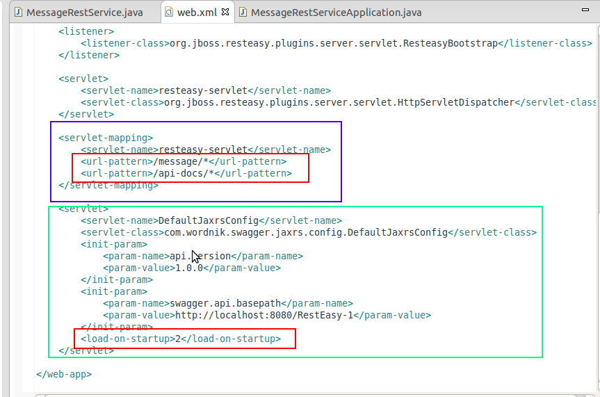 Swagger integration with RestEasy (JBoss-AS-7) | Technical Diary
