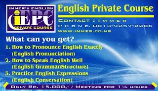 Contoh Iklan Bahasa Inggris