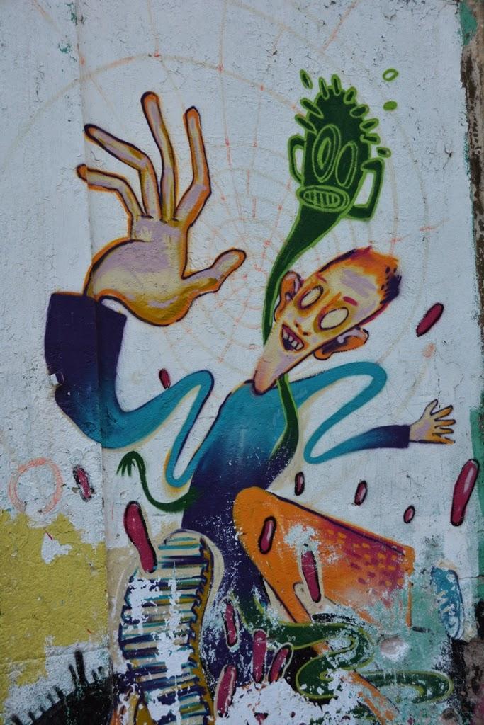 Rambla del Ravel Graffiti Barcelona