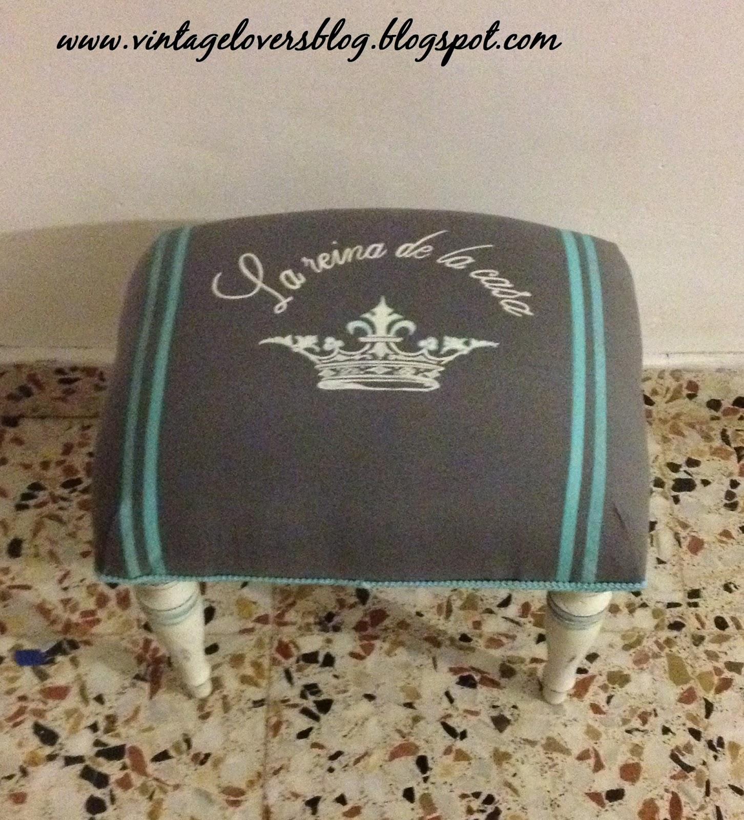 Vintagelovers: El Escabel de La Reina