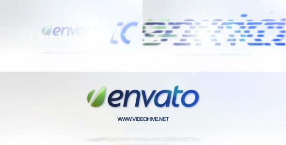 VideoHive Clean White Logo