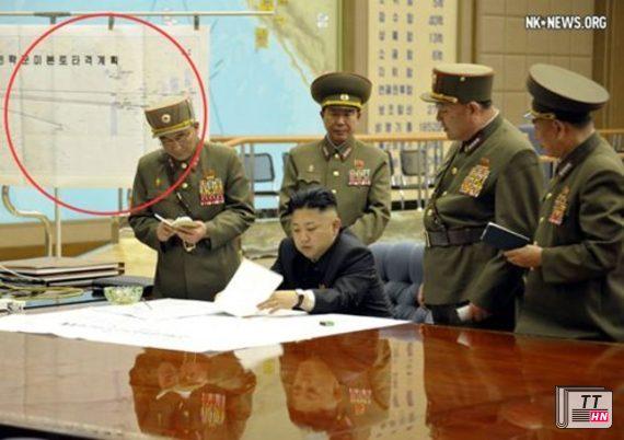 Kế hoạch tấn công lục địa Mỹ của Triều Tiên được khoanh vòng tròn màu đỏ