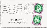 Norske frimerker
