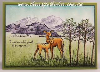 S.U., masculine card, Hand made card