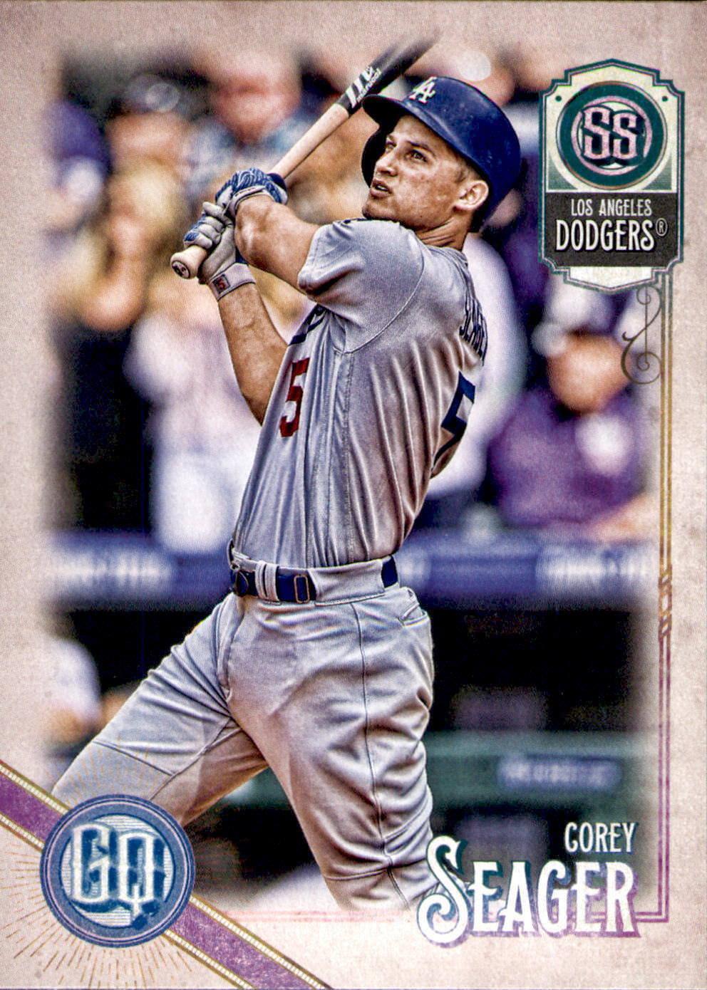 2018 Topps Gypsy Queen #156 Yasiel Puig Los Angeles Dodgers Baseball Card GOTBASEBALLCARDS