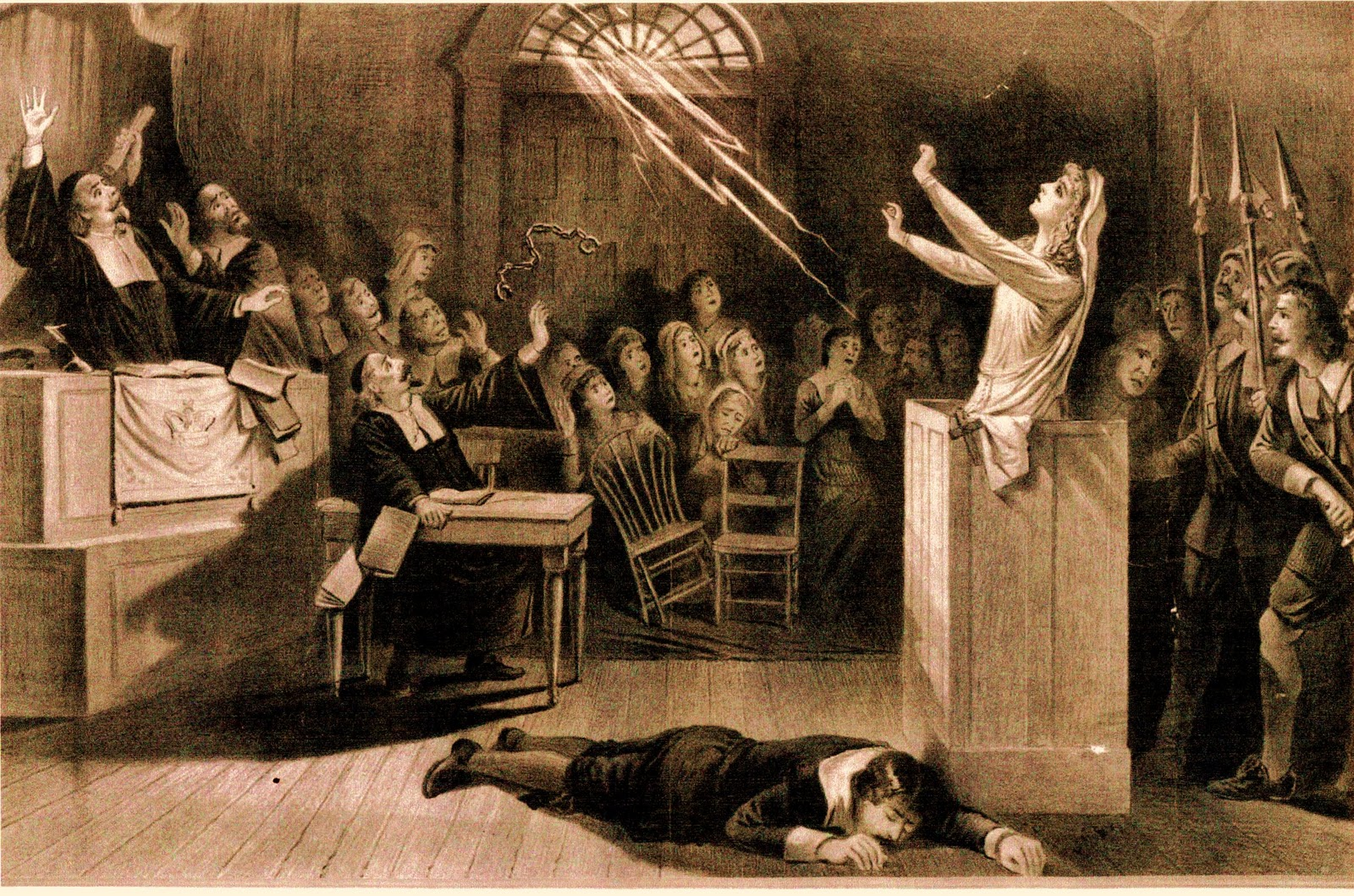 the salem witch trial In order to bring home the emotional power of the salem witch trials, devote time  to a whole-class dramatic reading of arthur miller's the crucible assign your.
