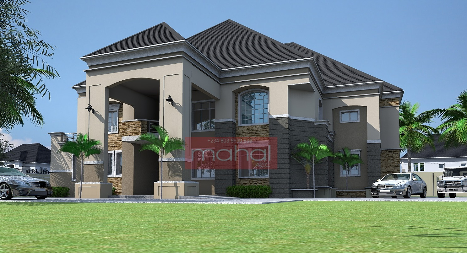 Contemporary nigerian residential architecture luxury 6 for Nigerian architectural designs