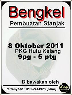 Bengkel Pembuatan Stanjak @ Destar @ Tengkolok - 8 Oktober 2011
