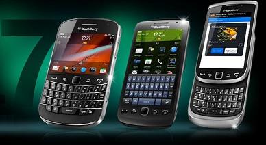 nuevos modelos BlackBerry Bold y BlackBerry Torch
