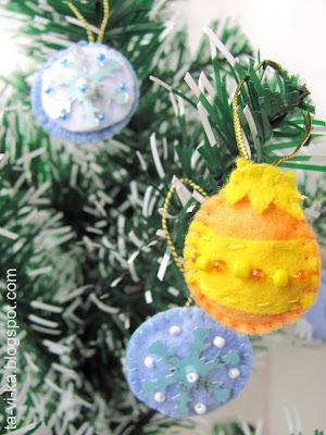 елочные игрушки своими руками christmas toys handmade