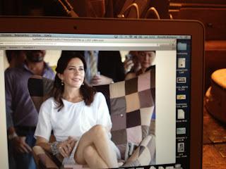 Foto: Pernille Wahlgren, fra Kronprinseparrets officielle besøg på Museet MuBE i Sao Paulo.
