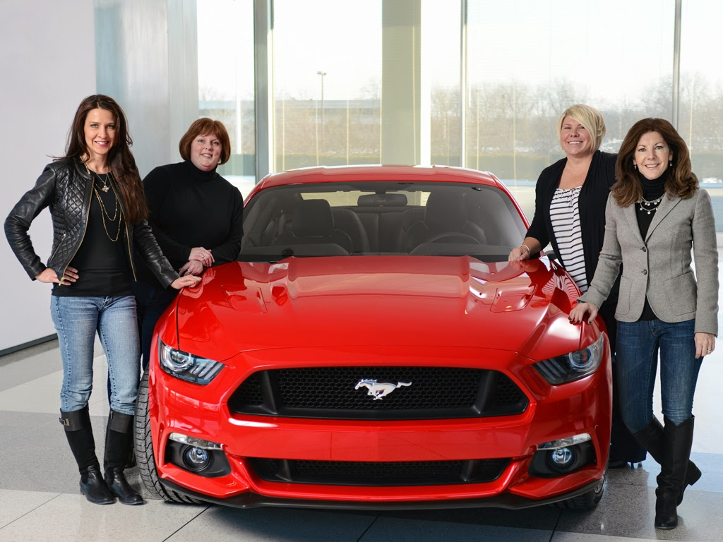 Ford Celebrates Women Behind the All-New Mustang