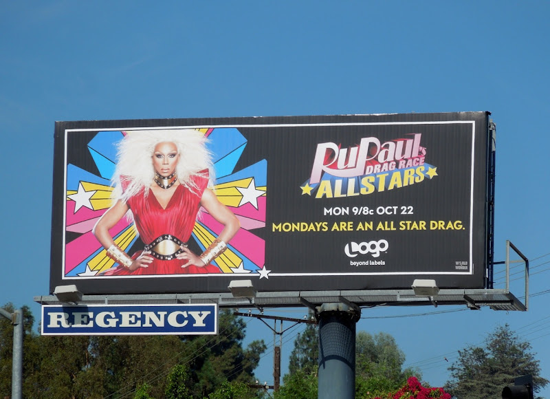 RuPauls Drag Race All Stars billboard