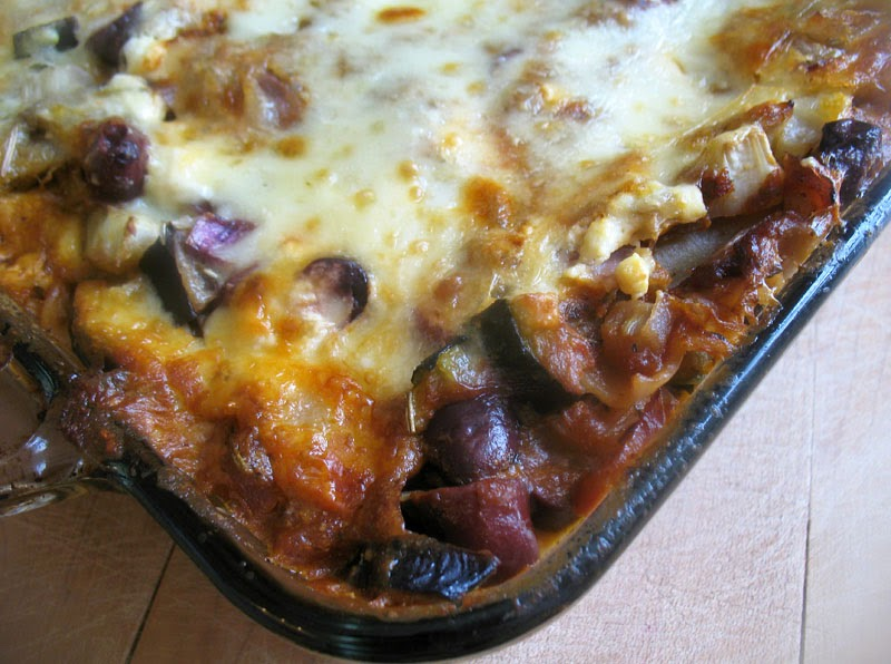 Roasted Vegetable Lasagna | Lisa's Kitchen | Vegetarian Recipes ...