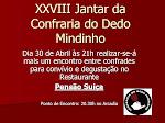 XXVIII Confraria