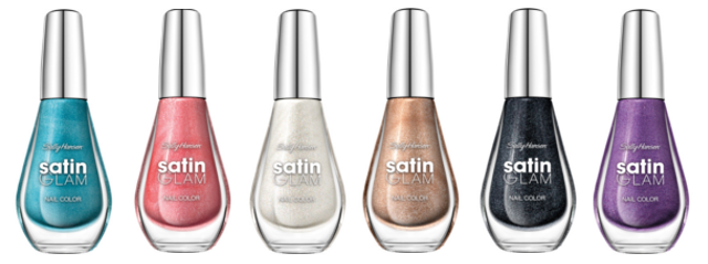 Preview - Sally Hansen Satin Glam - limitierte Kollektion (LE) - Januar 2014
