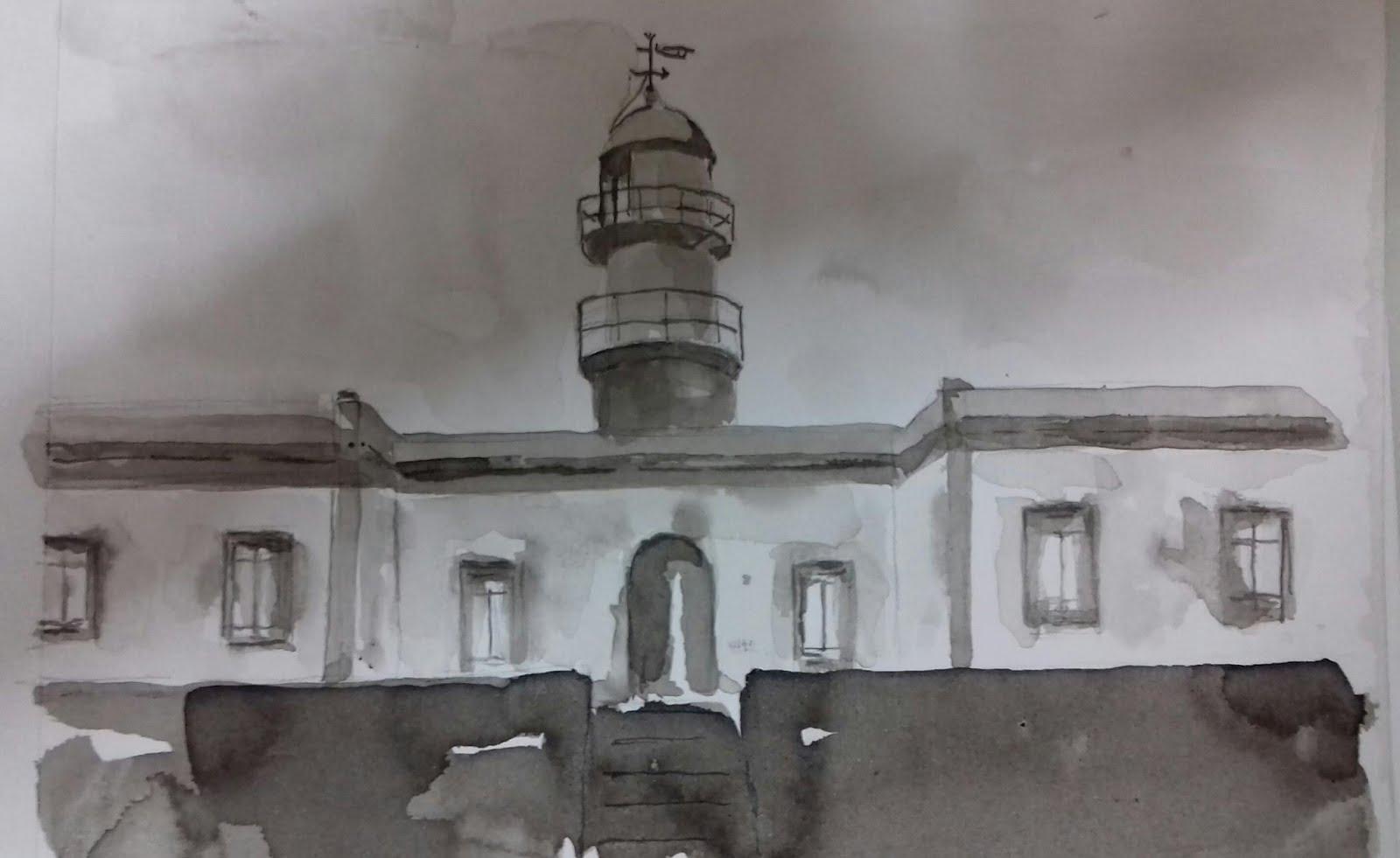 Faro de Punta Lariño