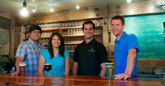 Elevation Beer Company crew