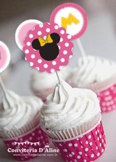 decoração festa minnie rosa