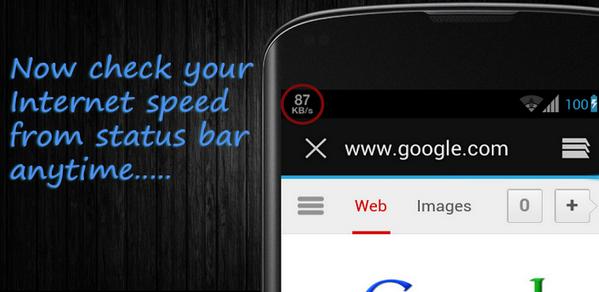 Cara Menampilkan Kecepatan Internet Pada Status Bar Android