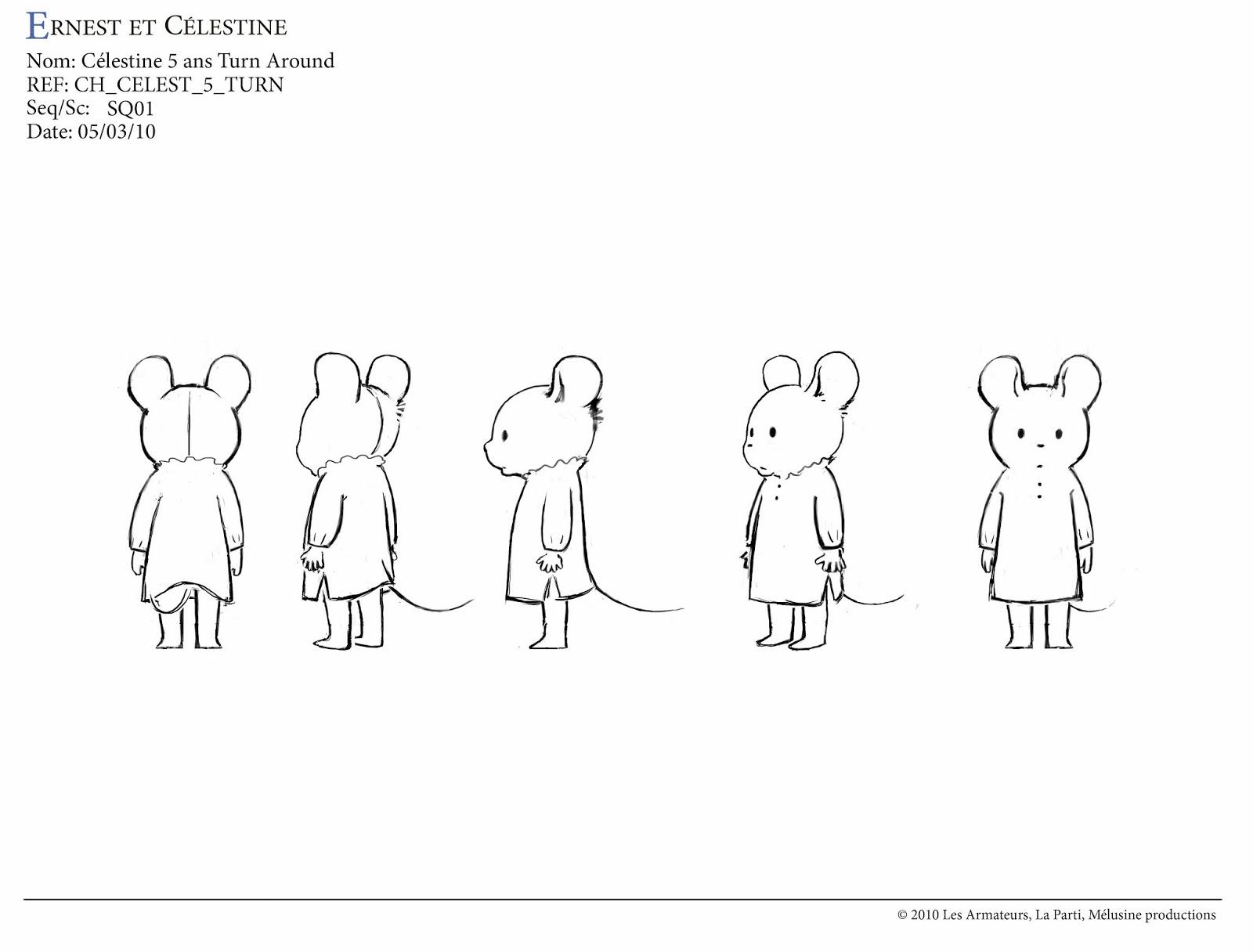 living lines library ernest et c lestine 2012 character design. Black Bedroom Furniture Sets. Home Design Ideas