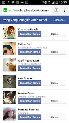 cara menambahkan teman di facebook