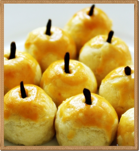Kue Nastar dengan topping butir cengkeh