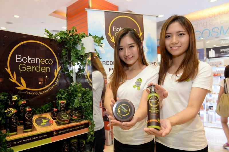 Botaneco Garden Organic Argan, Virgin Olive Oil Hair & Body Collection, Guardian, Guardian Malaysia, Natural Skincare,