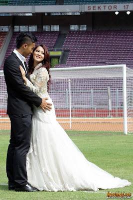 Prewedding ala timnas sepakbola