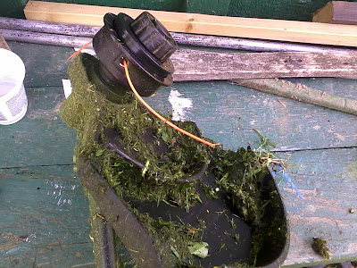 Триммер для участка, огорода, фото