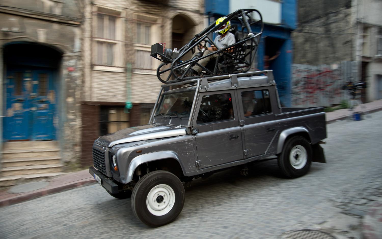 Ben Collins Skyfall Land Rover Defender Stunt Car