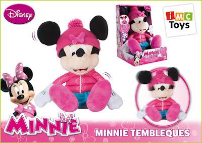 TOYS : JUGUETES - DISNEY Minnie Tembleques  peluche interactivo | IMC Toys 181601 | A partir de 18 meses  Comprar en Amazon España
