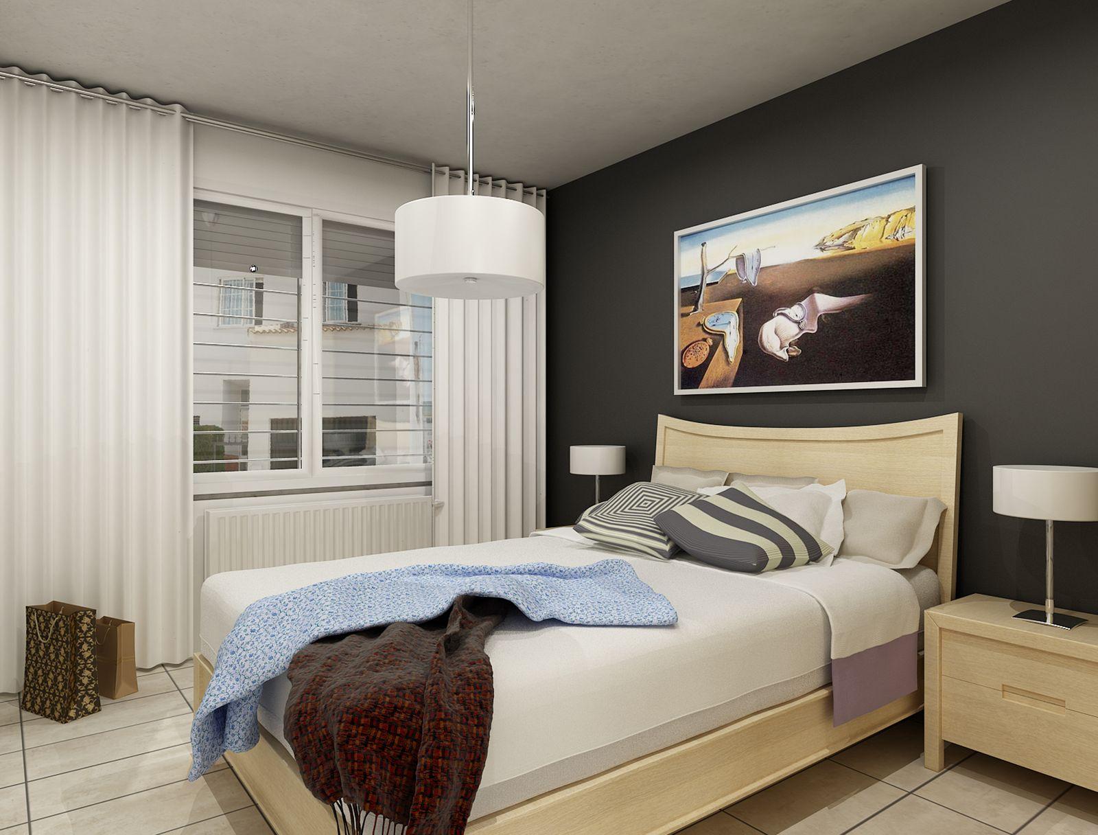 Dormitorios Peque Os Decoraci N ~ Decoracion Interiores Dormitorios