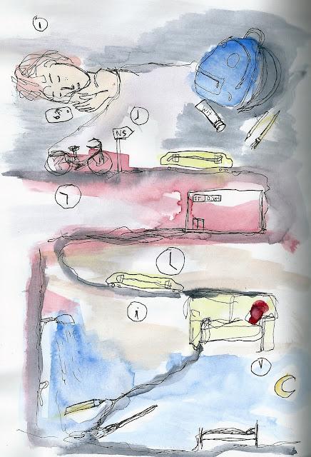 De week van een kunstacademiestudent