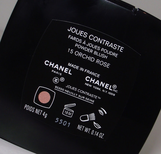 CHANEL Joules Contraste Powder Blush Review - 15 Orchid Rose