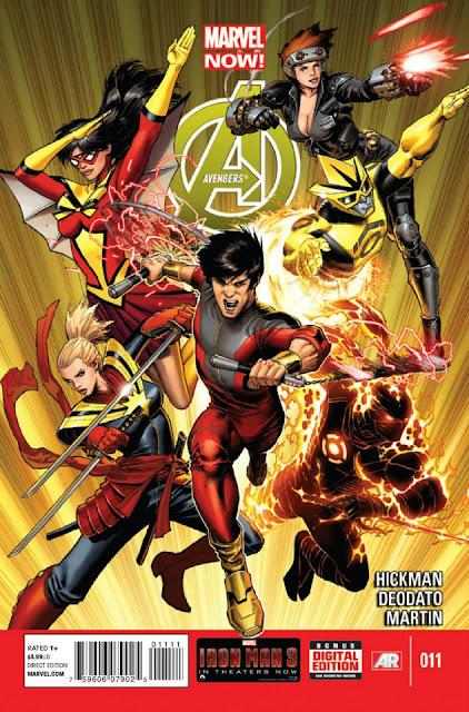 Avengers #11 (Marvel Now) Comics gratis descarga español