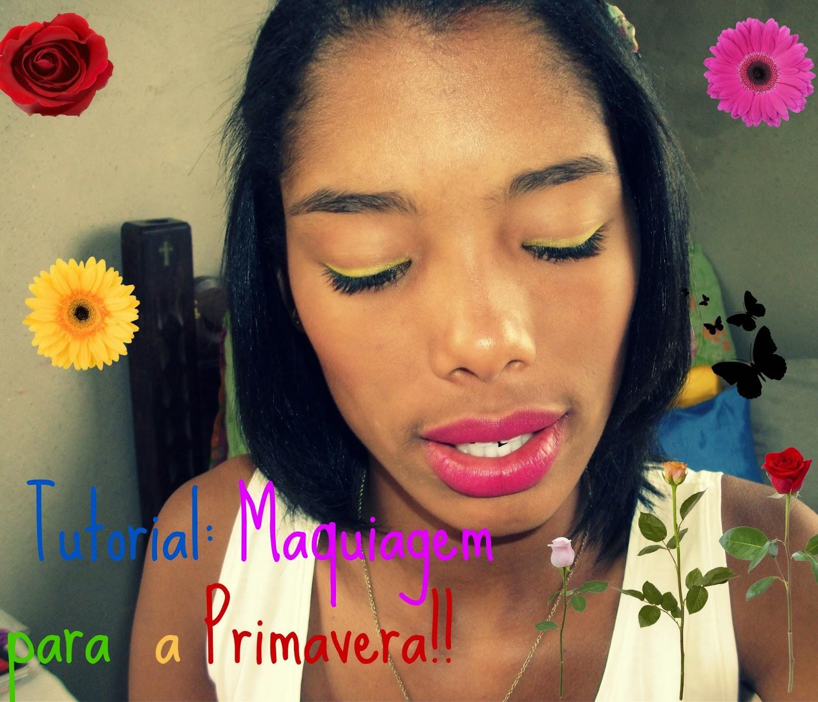 Tutorial: Maquiagem para a Primavera!!