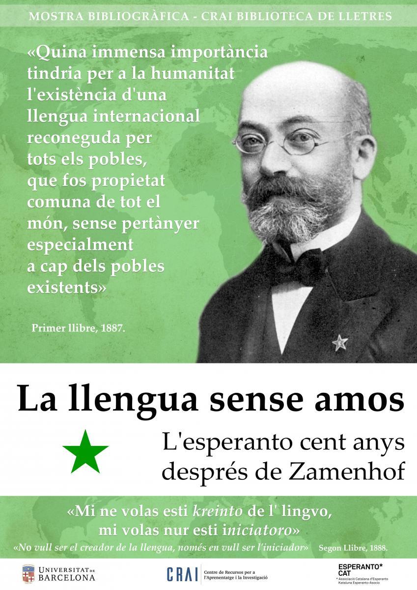 Mostra bibliogràfica d'esperanto