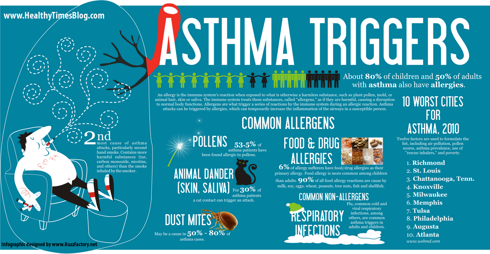 the common causes and triggers of asthma