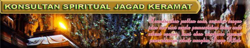 KONSULTAN SPIRITUAL JAGAD KERAMAT