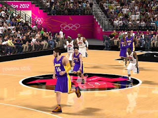 NBA 2K12 Team USA - London Olympics Arena 2012