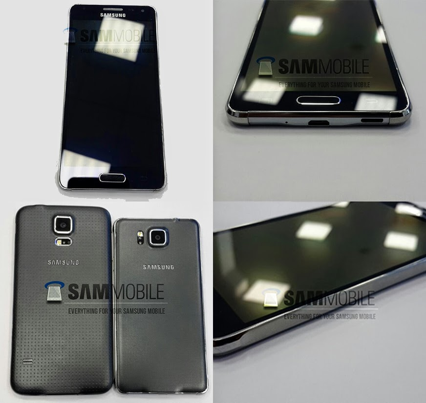 Samsung'tan Bir Metal Kasa Daha, Galaxy Alpha