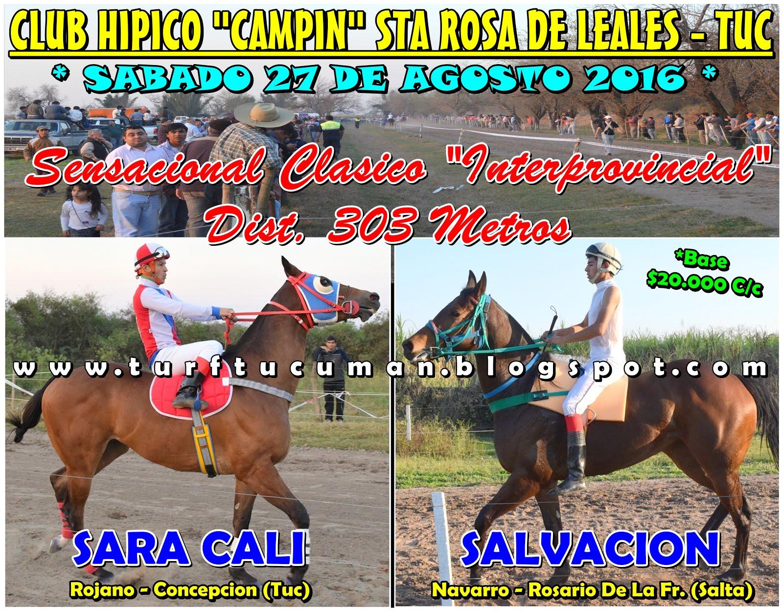 SARA CALI VS SALVACION