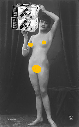 party girl, black and white photography, art, contemporary, beer, nude,