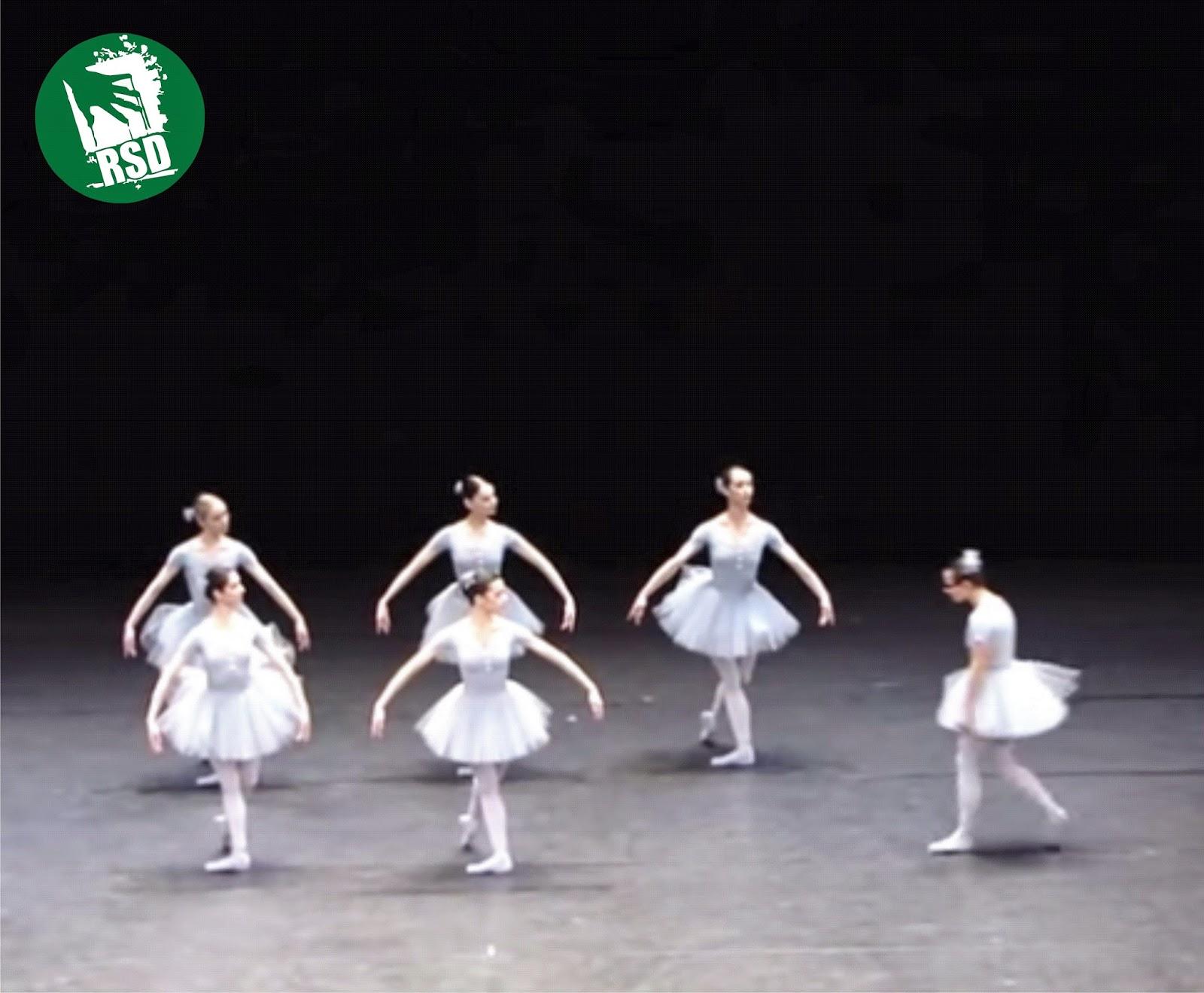 — Alô Gente! O Ballet pra dar gargalhada chegou! [Vídeo]