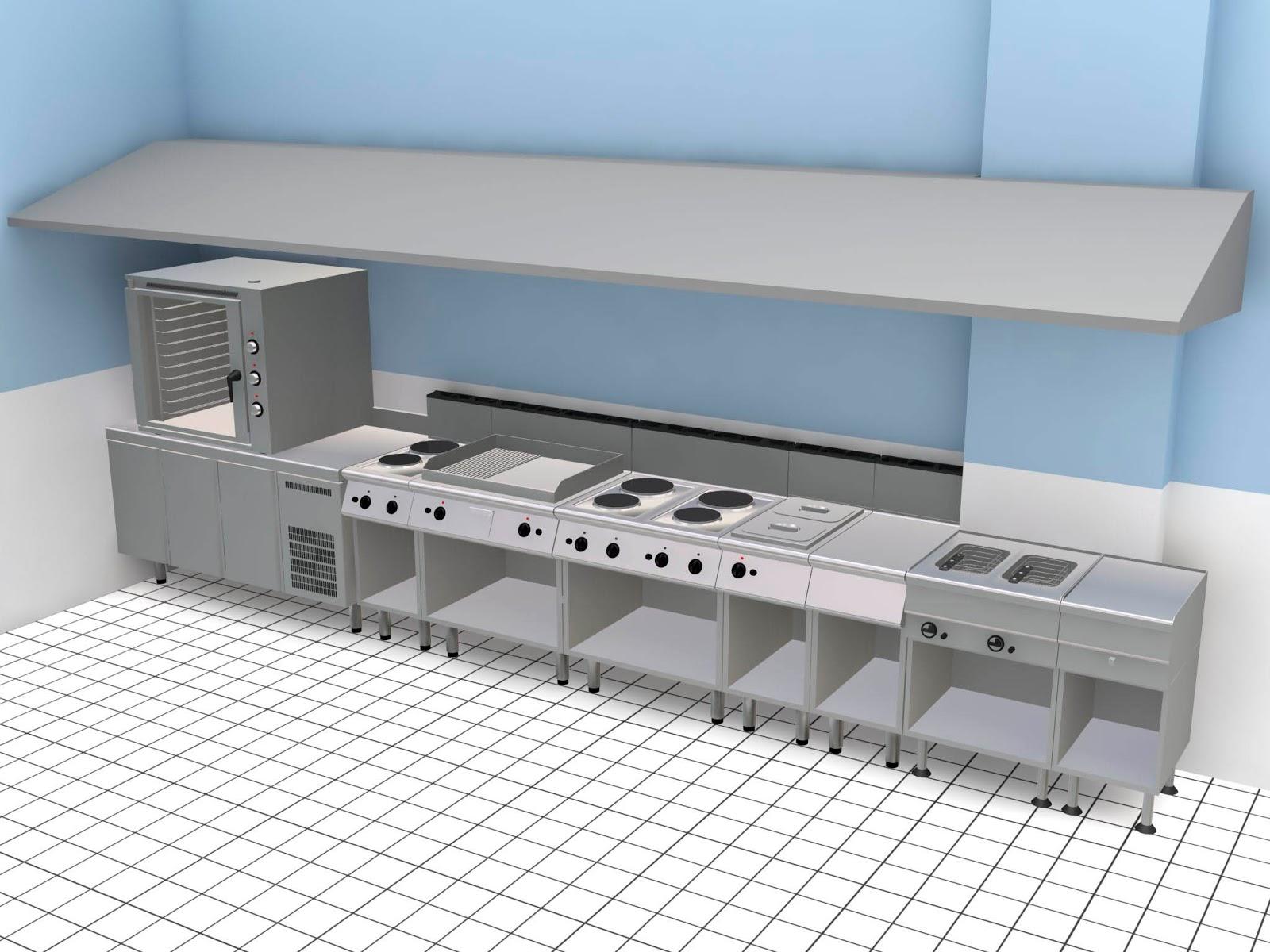 Adriano sovilla orfila 3d cocinas industriales for Ver cocinas industriales