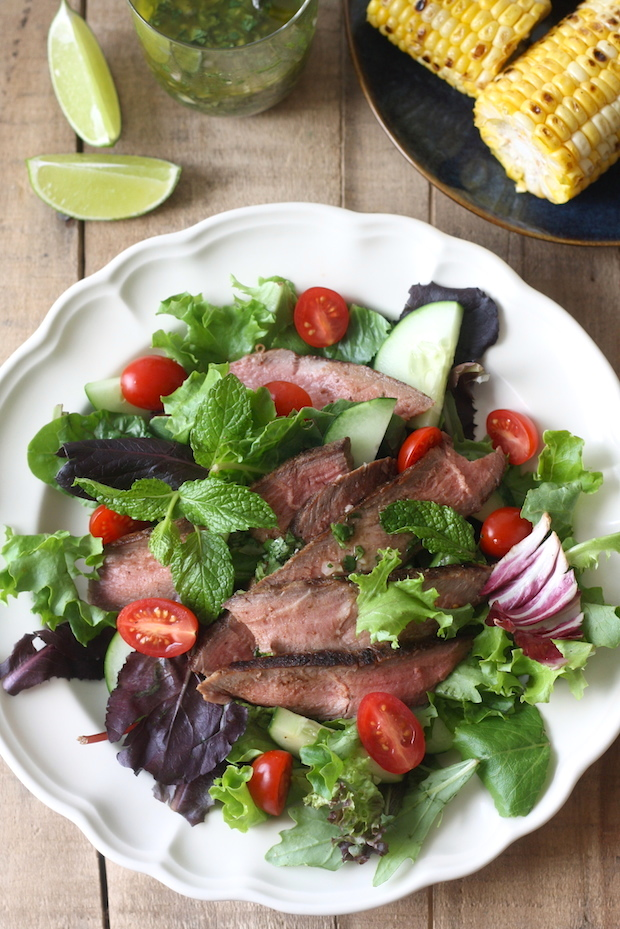 Thai Grilled Steak Salad with Cilantro-Lime Dressing | Season with ...