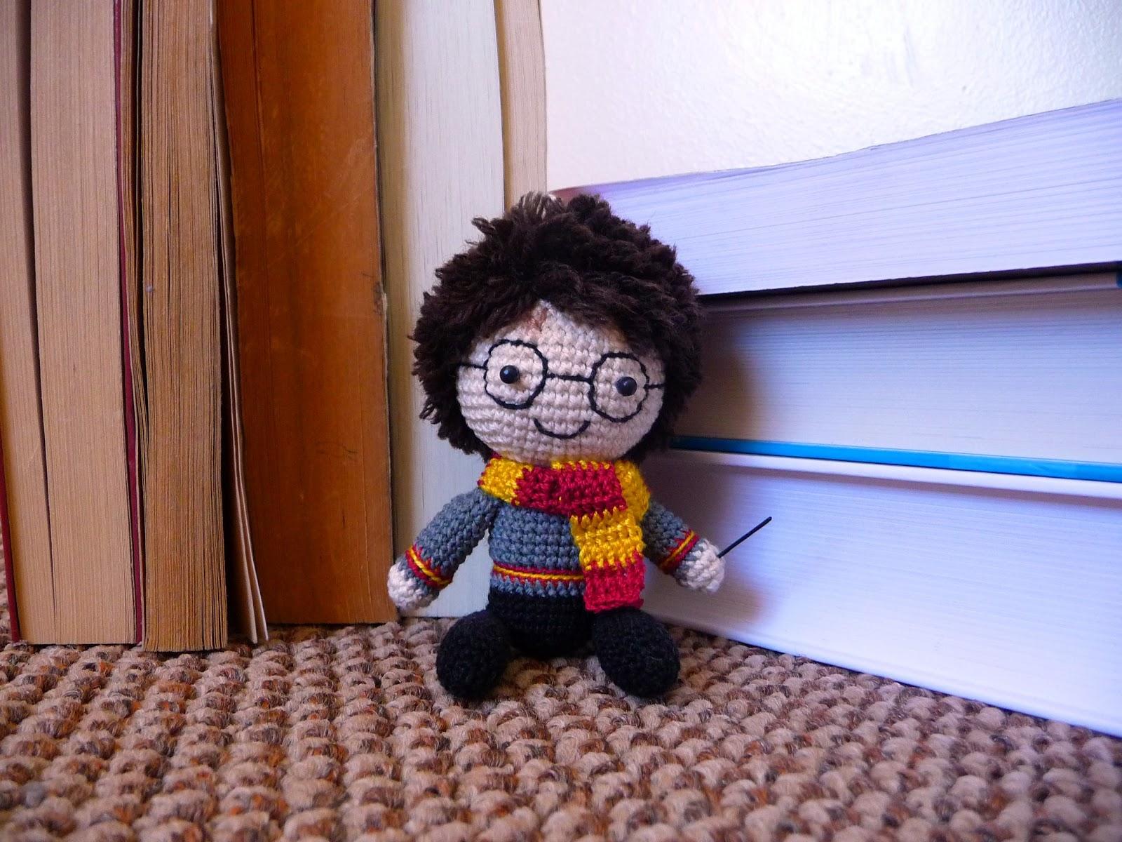 Mancita: Amigurumi - Harry Potter