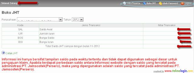 Cara daftar Jamsostek online lewat internet - www.teknologiz.com