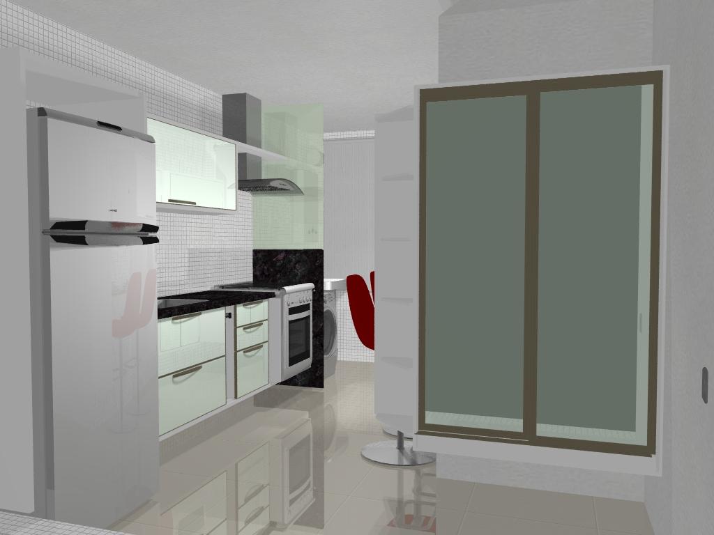 maioria dos apartamentos ela vem integrada a cozinha por esta  #5C2520 1024 768